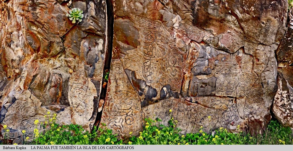 Los petroglifos de la estación El Lomo de La Fajana, El Paso.