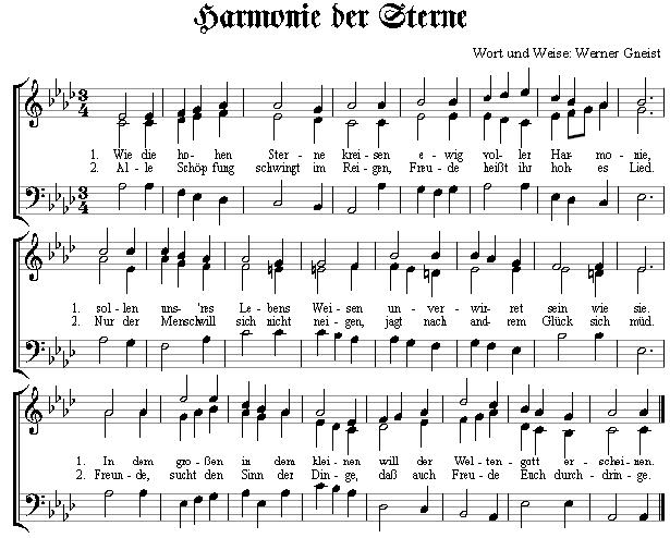 Harmonie der Sterne