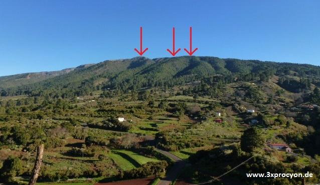 La zona de alta montaña con la cumbre .