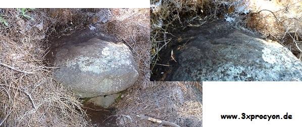 Ein möglicher Wasserstein in El Paso.