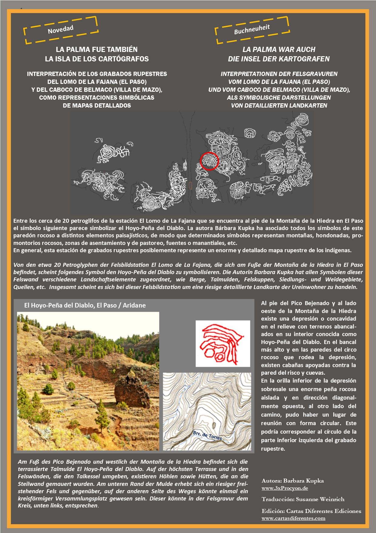 Este motivo circular se ajusta bastante bien a los elementos paisajísticos del Hoyo-Peña de Diablo.