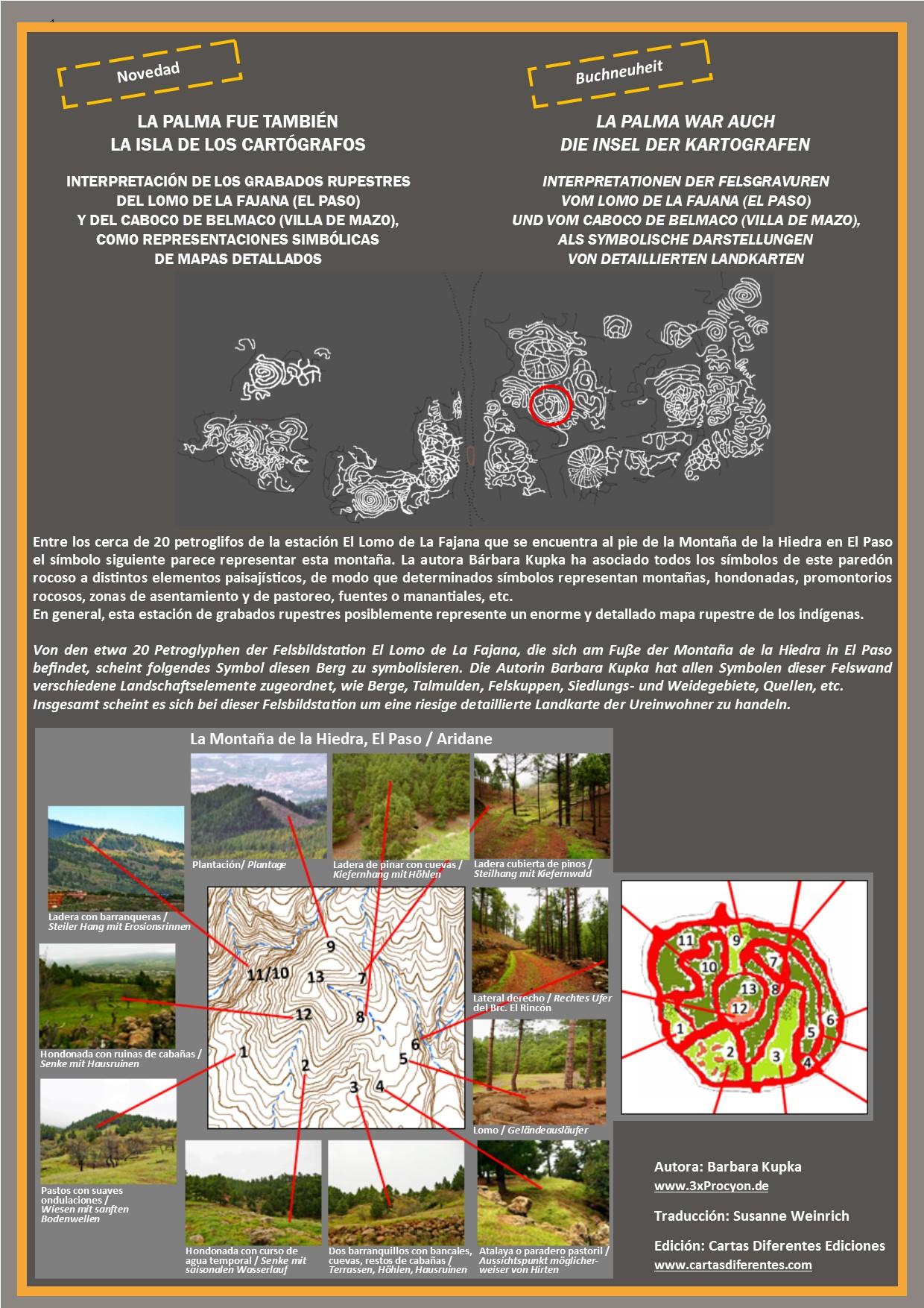 Este motivo circular se ajusta bastante bien a los elementos paisajísticos de la Montaña de la Hiedra.
