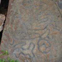 Un símbolo de la estación La Fajana corresponde muy bien con la Montaña de Argual.